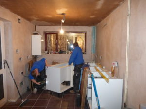 Construction and Installation of Kitchen Units