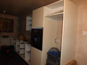 Installation of Kitchen Wall Units