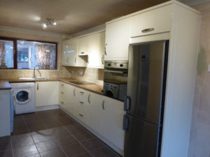Kitchen Fitting Rugby finished