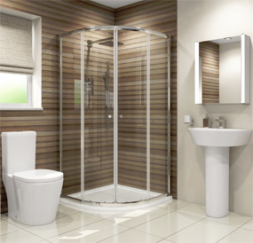 Complete Shower Room Suite