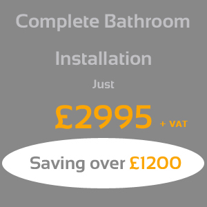 Complete bathroom installation package offer