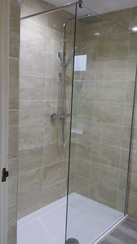 Rectangular Walk-In Shower