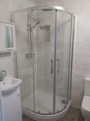 Shower Room completed in Hinckley as part of Age UK