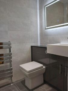 Bathroom installation at Broughton Astley