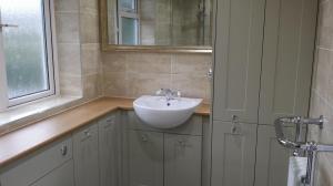 Bathroom design with storage