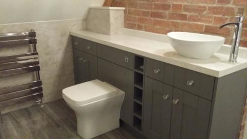 Grey Fully Fitted Bathroom Furniture